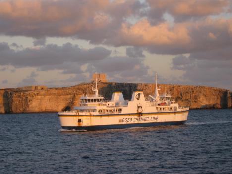"""Auf dem """"Heimweg"""" von Gozo nach Malta"""